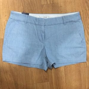 NWT J. Crew Oxford Shorts